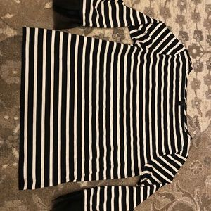 Black and White Stripped Shirt